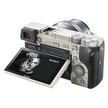 Acheter Sony Alpha 6000 + Objectif 16-50 mm Argent + Cullmann Malaga Vario 200 Rouge
