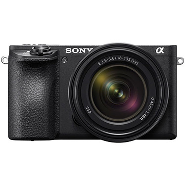"Sony Alpha 6500 + Objectif 18-135 mm Appareil photo hybride 24.2 MP - Mise au point 4D Focus - Stabilisation 5 axes - Ecran tactile inclinable 3"" - Vidéo 4K - Wi-Fi/Bluetooth/NFC + Objectif E 18-135 mm f/3.5-5.6 OSS"