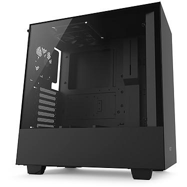 NZXT H500 (noir) Boîtier moyen tour avec fenêtre latérale en verre trempé