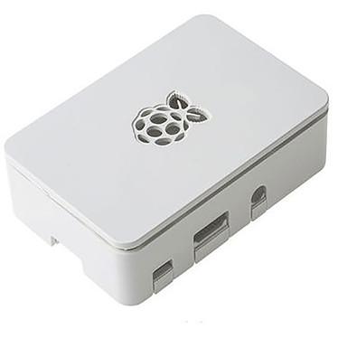 Boitier pour Raspberry Pi 3 B+ (Blanc) Boîtier en plastique blanc pour carte Raspberry Pi 3 B+