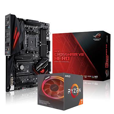 ASUS ROG CROSSHAIR VII HERO + AMD Ryzen 7 2700X