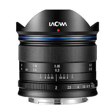 Laowa 7.5mm f/2 MFT Standard Noir Objectif ultra grand-angle 7.5 mm f/2 Micro 4/3 pour hybrides