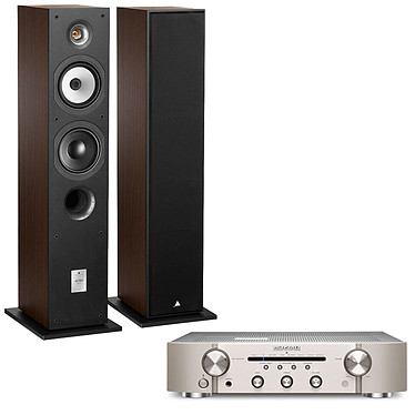 Marantz PM6006 Silver Gold + Triangle Altea Borea Noyer