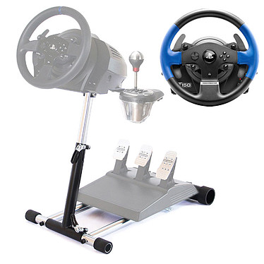 Thrustmaster T150 Force Feedback + Wheel Stand Pro v2