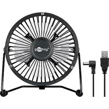 """Goobay Mini ventilateur USB 4'"""" (Noir)"""