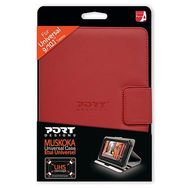 "PORT Designs Muskoka 9/10.1"" Rouge pas cher"