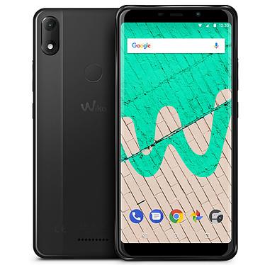 "Wiko View Max Anthracite Smartphone 4G-LTE Dual SIM - ARM Cortex-A53 Quad-Core 1.3 GHz - RAM 3 Go - Ecran tactile 5.99"" 720 x 1440 - 32 Go - Bluetooth 4.2 - 4000 mAh - Android 8.1"