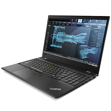 "Lenovo ThinkPad P52s (20LB000AFR) Intel Core i7-8550U 16 Go SSD 256 Go 15.6"" LED Full HD NVIDIA Quadro P500 2 Go Wi-Fi AC/Bluetooth Webcam Windows 10 Professionnel 64 bits"