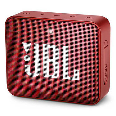 JBL GO 2 Rouge Mini enceinte portable sans fil Bluetooth et étanche avec fonction mains libres