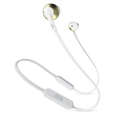 JBL TUNE 205BT Or Écouteurs intra-auriculaires sans fil Bluetooth avec télécommande et micro
