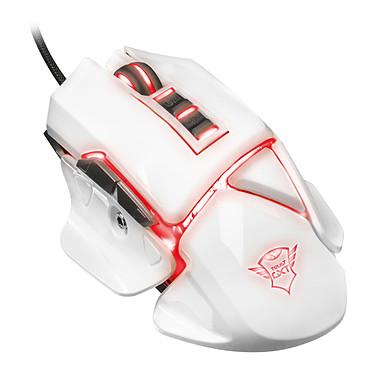 Trust Gaming GXT 154 Falx Souris filaire pour gamer - droitier - capteur optique 2400 dpi - 7 boutons - rétro-éclairage RGB