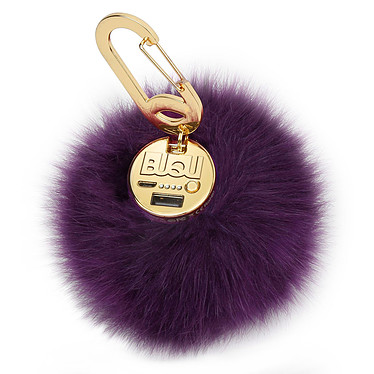 BUQU Power Poof PowerBank Violeta