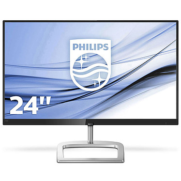 "Philips 24"" LED - 246E9QJAB 1920 x 1080 pixels - 5 ms (gris à gris) - Format large 16/9 - Dalle IPS - FreeSync - DisplayPort - HDMI - Noir"