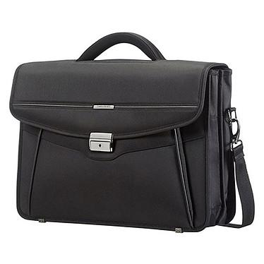 Samsonite Desklite Briefcase 2 Soufflets Noir