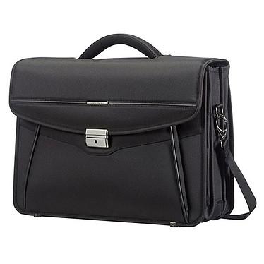 Samsonite Desklite Briefcase 3 Soufflets Noir