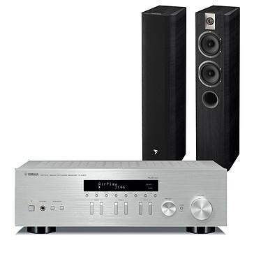 Yamaha MusicCast R-N303 Argent + Focal Chorus 615 Black Style