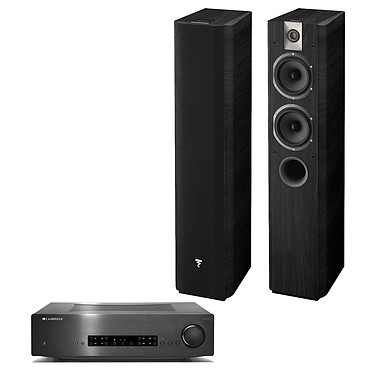 Cambridge CXA60 Noir + Focal Chorus 615 Black Style