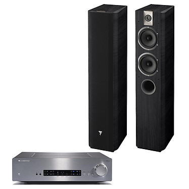 Cambridge CXA60 Argent + Focal Chorus 615 Black Style