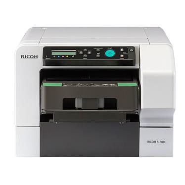Ricoh Ri 100 Imprimante jet d'encre couleur sur textile (USB / Wi-Fi / Fast Ethernet)