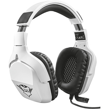 Trust Gaming GXT 354 Creon 7.1 Casque-micro gamer - circul-aural fermé - son surround 7.1 virtuel - microphone pliable - télécommande - USB