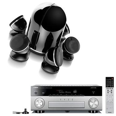 Yamaha MusicCast RX-A870 Titane + Focal Dôme Pack 5.1 Diamond Black