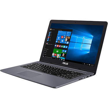 "ASUS VivoBook Pro 15 NX580GD-FI050R Intel Core i7-8750H 16 Go SSD 512 Go 15.6"" LED Ultra HD NVIDIA GeForce GTX 1050 4 Go Wi-Fi AC/Bluetooth Webcam Windows 10 Professionnel 64 bits (Garantie constructeur 2 ans)"
