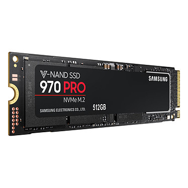 Avis Samsung SSD 970 PRO M.2 PCIe NVMe 512 Go