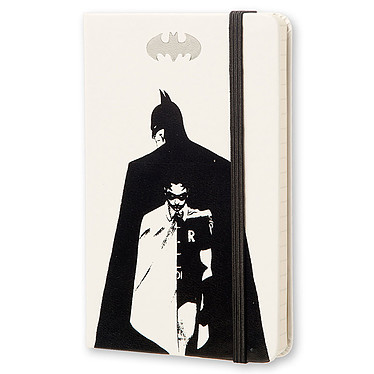 Moleskine Batman Ruled Pocket Blanc