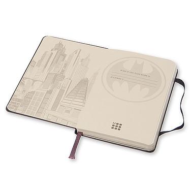 Avis Moleskine Batman Plain Pocket Noir