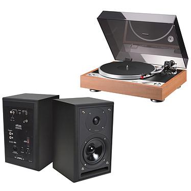 Onkyo CP-1050 Bois + Eltax Monitor III BT Phono Noir