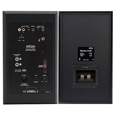 Acheter Sherwood PM-9805 + Eltax Monitor III BT Phono Noir