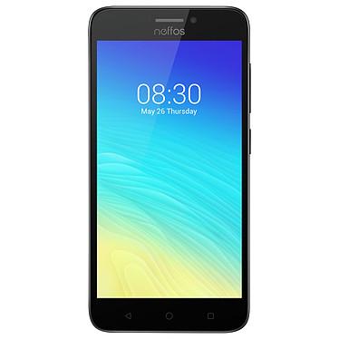 "Neffos Y5S Gris ciel Smartphone 4G-LTE Dual SIM - Snapdragon 212 Quad-Core 1.3 GHz - RAM 2 Go - Ecran tactile 5"" 720 x 1280 - 16 Go - Bluetooth 4.1 - 2450 mAh - Android 7.1"