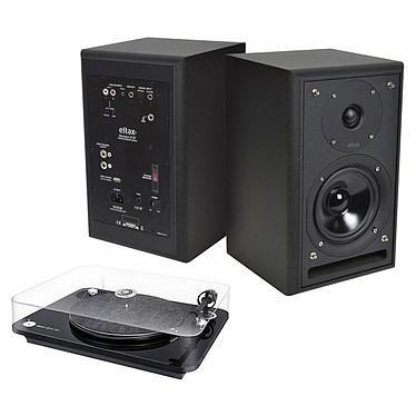 Elipson Omega 100 RIAA Noir + Eltax Monitor III BT Phono Noir