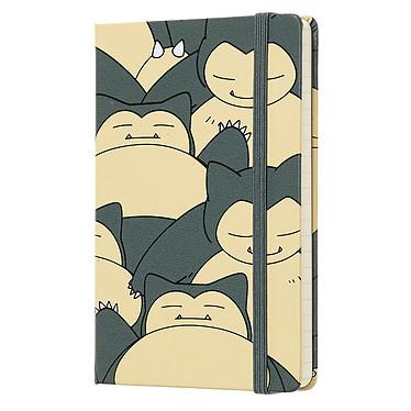 Moleskine Carnet Pokémon Ronflex Pocket Noir