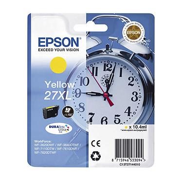 Epson Réveil 27XL Jaune Cartouche d'encre jaune haute capacité (1 100 pages à 5%)