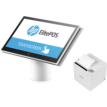 HP Engage One 143 Blanc + Support   Epson TM-m30 (121)