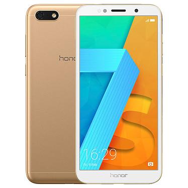 "Honor 7S Or Smartphone 4G-LTE Dual SIM - ARM Cortex-A53 Quad-Core 1.5 Ghz - RAM 2 Go - Ecran tactile 5.45"" 720 x 1440 - 16 Go - Bluetooth 4.2 - 3020 mAh - Android 8.0"