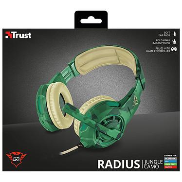 Trust Gaming GXT 310C Radius (Camo Jungle) pas cher