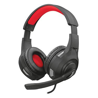 Trust Gaming GXT 307 Ravu Casque-micro gamer - circum-aural fermé - son stéréo - microphone pliable - Jack 3.5 mm - compatible PC et consoles