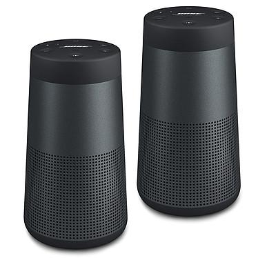 Bose SoundLink Revolve Noir (lot de 2) Enceinte portable sans fil Bluetooth étanche (par paire)