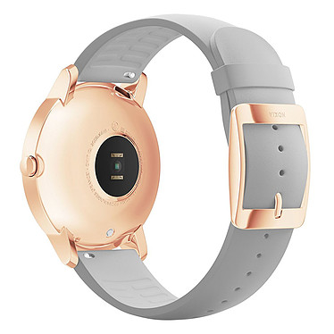 Avis Withings Nokia Steel HR 36 mm Silicone Gris & Or Rose