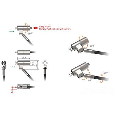 Avis PORT Connect Câble de sécurité Nano
