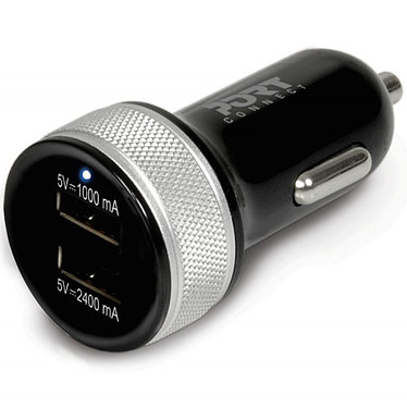 Port Connect 2x USB Car Charger