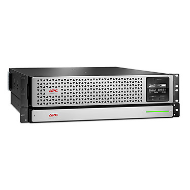 APC Smart-UPS SRTL1500RMXLI Onduleur On-line Double conversion 1500VA - 230V (USB / RJ45 Série) - Rack 3U