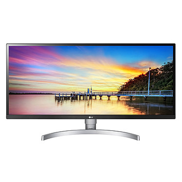 "LG 34"" LED 34WK650 2560 x 1080 pixels - 5 ms - Format large 21/9 - Dalle IPS - HDR - FreeSync - HDMI - Display Port - Noir/Argent"
