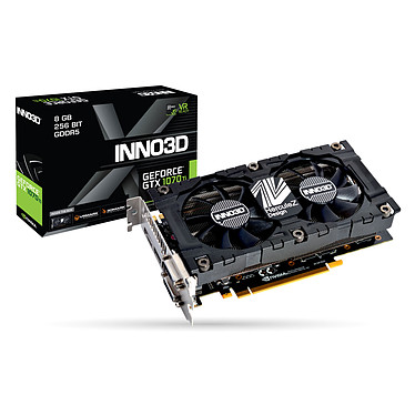 INNO3D GeForce GTX 1070 Ti TWIN X2 V2