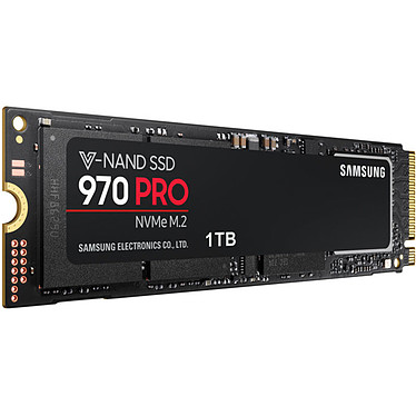 Avis Samsung SSD 970 PRO M.2 PCIe NVMe 1 To
