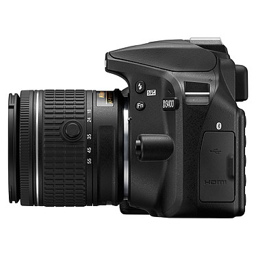 Opiniones sobre Nikon D3400 + AF-P DX 18-55 VR + AF-P DX 70-300 VR negro