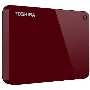 Avis Toshiba Canvio Advance 2 To Rouge