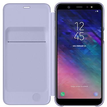 Samsung Flip Wallet Lavande Galaxy A6+ 2018